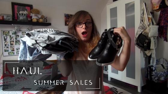 summer sales haul